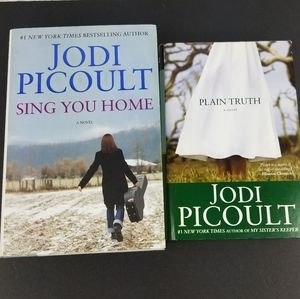 Jodi Picoult lot of 2 Hardcover books with CD